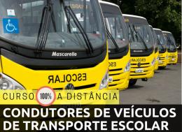 CONDUTORES DE VEÍCULOS DE TRANSPORTE DE ESCOLARES